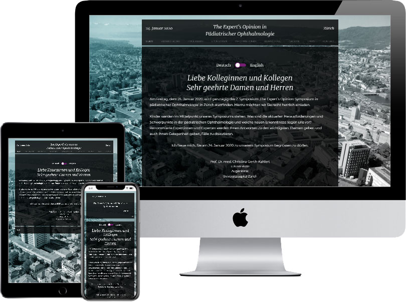 Webseite chinderaugen.ch
