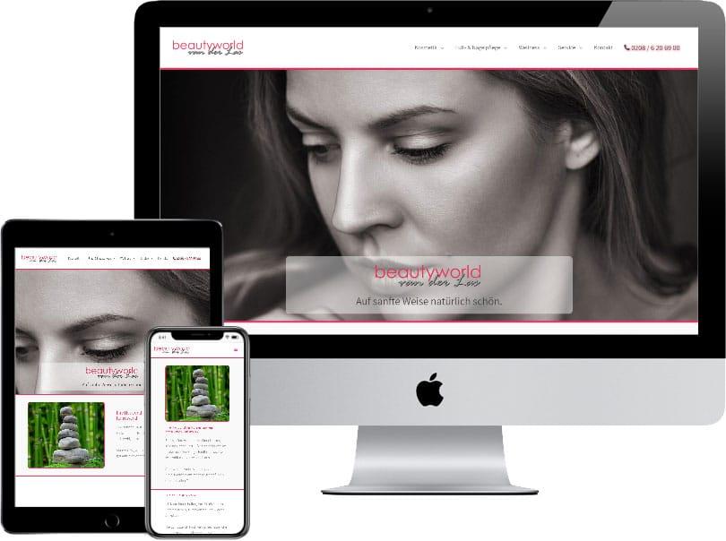 Webseite beautyworld-vanderlas.de