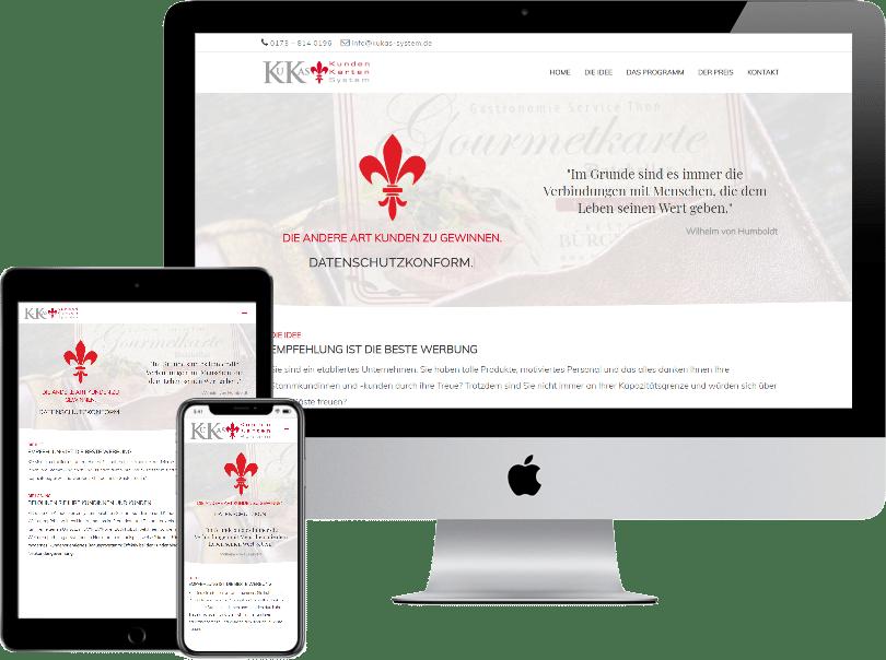 Webseite kukas-system.de