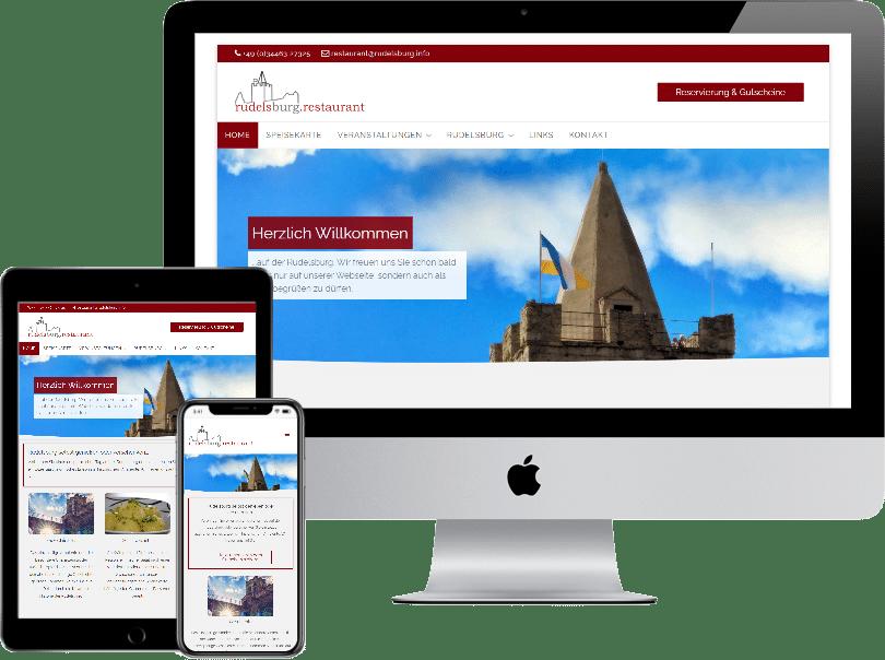 Webseite rudelsburg.info